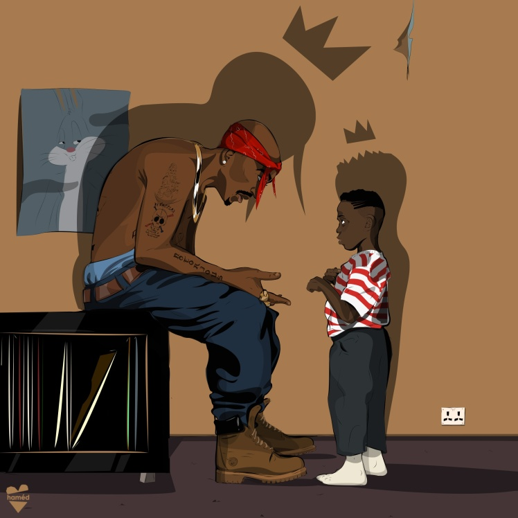2Pac and Kendrick